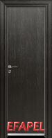 Алуминиева врата за баня – Efapel, цвят Черна мура